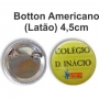 Botton latao americano 4.5 MM Redondo
